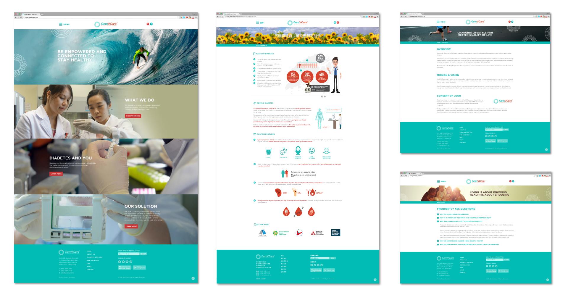 GemVCare Web Design