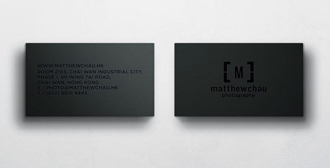 matthewchau business card