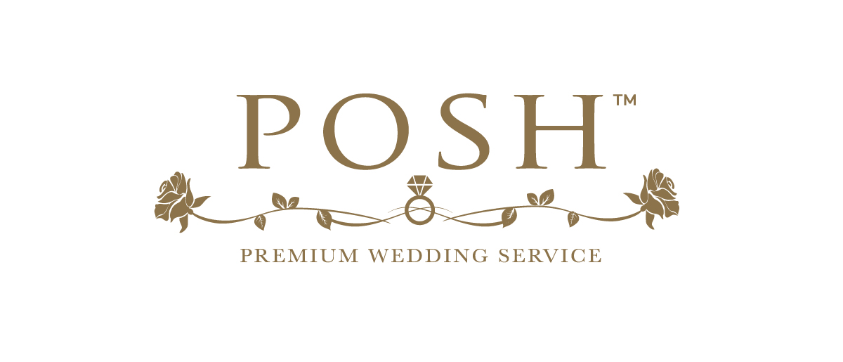 Posh Weddings Logo Design